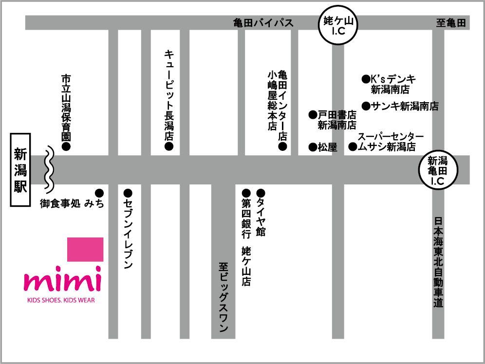 mimiの地図